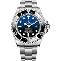 Rolex Sea-Dweller Deepsea Steel 44mm Black No numerals United States of America, New York, New York