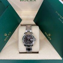 Rolex Lady-Datejust Steel 28mm Grey United States of America, California, Los Angeles