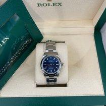 Rolex Oyster Perpetual 31 Сталь 31mm Синий Без цифр