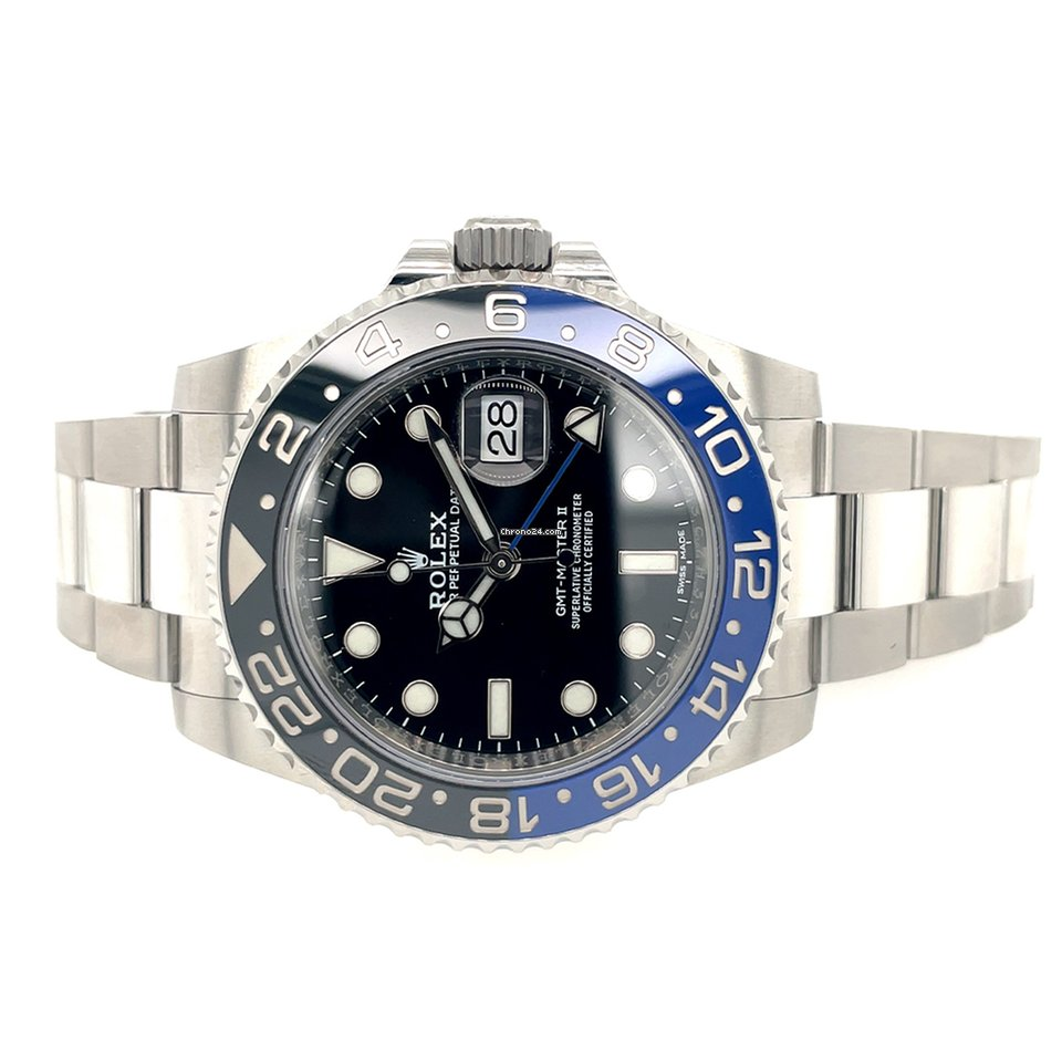 Rolex GMT-Master II 116710BLNR 2019 pre-owned