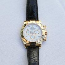 Rolex 116518 Geelgoud 2003 Daytona 40mm tweedehands