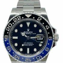 Rolex GMT-Master II Stahl 40mm Blau Keine Ziffern Schweiz, Genève
