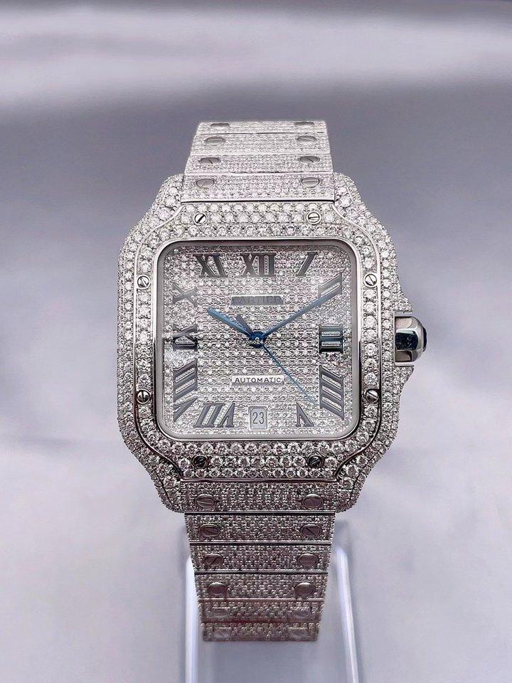 Cartier Santos (submodel) WSSA0018 2021 new