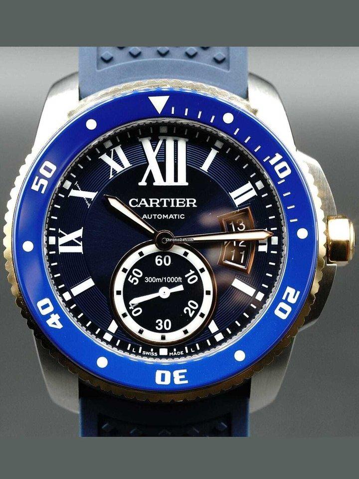 Cartier Calibre de Cartier Diver W2CA0009 pre-owned