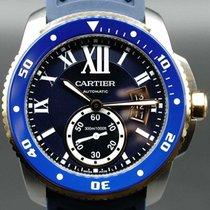 Cartier Calibre de Cartier Diver Steel 42mm Blue Roman numerals United States of America, Florida, Naples