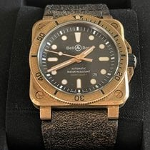 Bell & Ross Bronze Automatic Black 42mm pre-owned BR 03