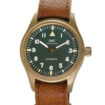 IWC Pilot's Watch Automatic 36 Bronze 36mm Green Arabic numerals United States of America, New York, New York