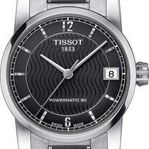 Tissot Titanium Automatic Сталь 32mm Черный Aрабские
