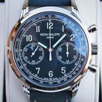 Patek Philippe Chronograph White gold 41mm Blue Arabic numerals United States of America, Iowa, Des Moines