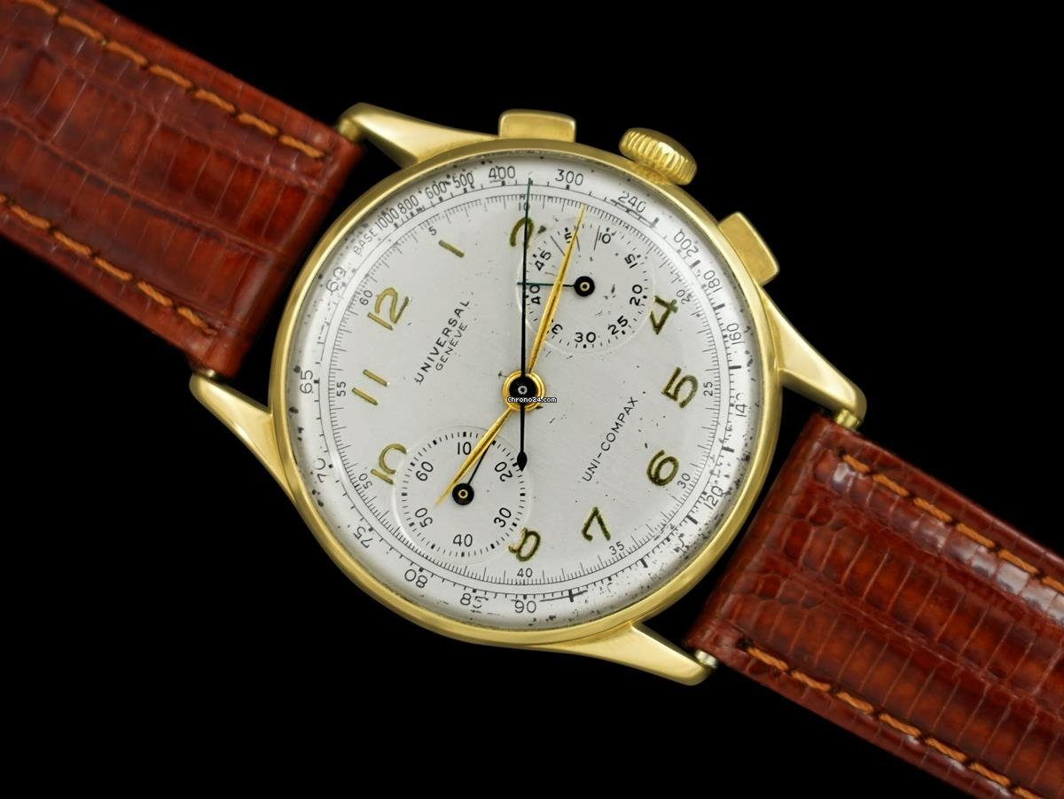Universal Genève Compax 7894 1940 pre-owned