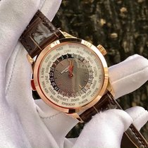 Patek Philippe World Time Rose gold 38.5mm Grey Arabic numerals United States of America, Iowa, Des Moines