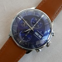 Junghans Meister Chronoscope Steel 40,7mm Blue No numerals
