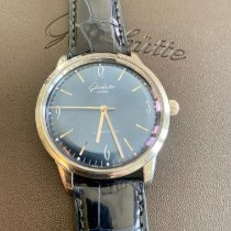 Glashütte Original Sixties Steel 39mm Blue Arabic numerals United States of America, Illinois, New Lenox