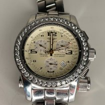 Breitling Emergency pre-owned 45mm White Chronograph Date Steel