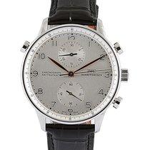 IWC Portuguese Chronograph Steel 41mm Silver Arabic numerals UAE, Dubai
