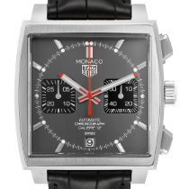 TAG Heuer Monaco new 2019 Automatic Chronograph Watch with original box and original papers CAW211J.FC6476