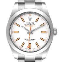 Rolex 116400 Staal 2013 Milgauss 40mm tweedehands