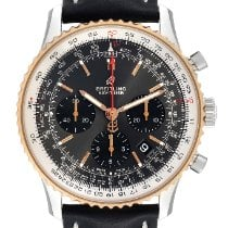 Breitling Steel Automatic Grey 42mm pre-owned Navitimer 1 B01 Chronograph 43