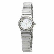 Omega Constellation Quartz Steel 22.5mm Mother of pearl United States of America, New York, New York