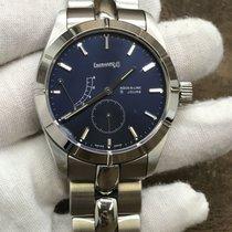 Eberhard & Co. 8 Jours Steel 40mm Blue United States of America, New York, New York
