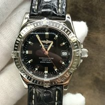 Breitling Callisto pre-owned 35mm Black Date Leather