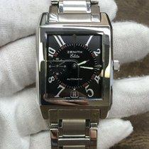 Zenith Port Royal Steel 31mm Black Arabic numerals United States of America, New York, New York