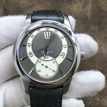 Perrelet pre-owned Automatic 40mm Silver Sapphire crystal 5 ATM