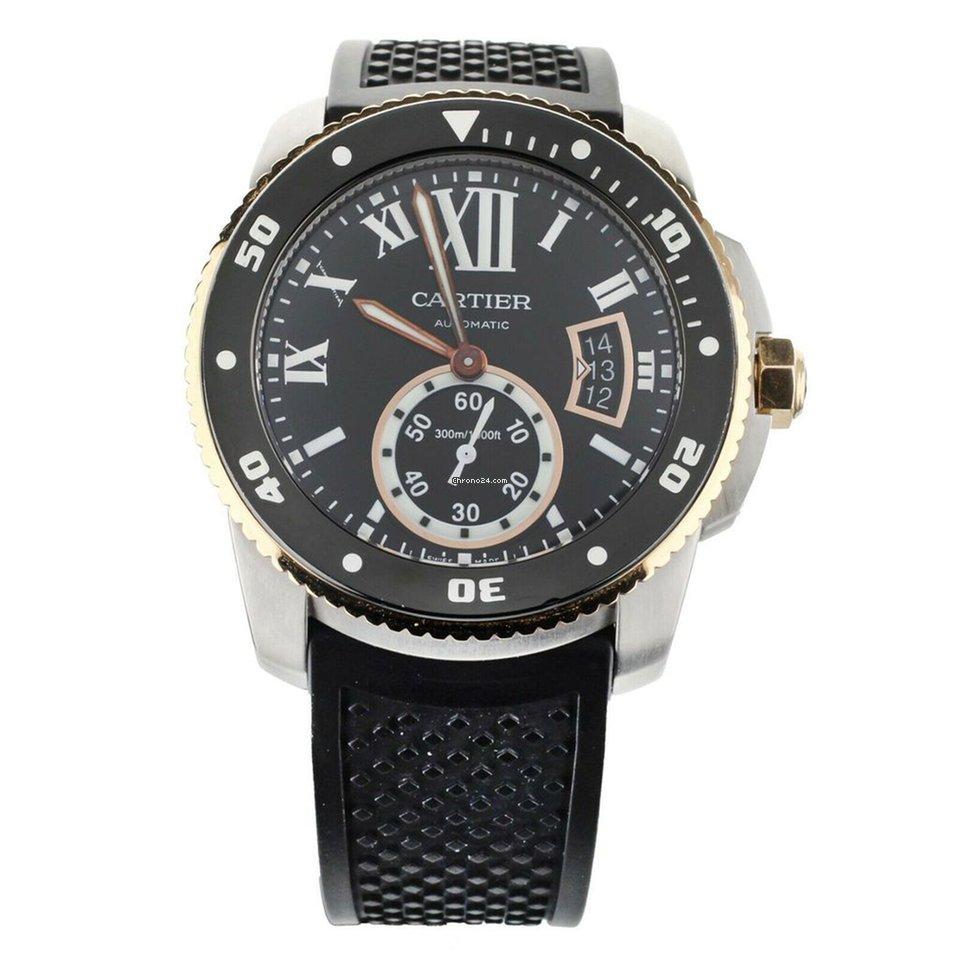 Cartier Calibre de Cartier Diver W710055 pre-owned