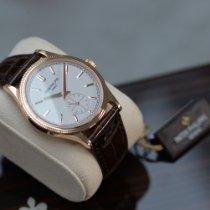 Patek Philippe Calatrava Rose gold 39mm Silver (solid)