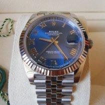 Rolex Datejust nuovo 2021 Automatico Orologio con scatola e documenti originali 126334-0026