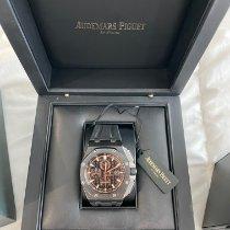 Audemars Piguet Royal Oak Offshore Chronograph Cerâmica 44mm Preto Sem números Portugal, MATOSINHOS