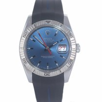 Rolex Datejust Turn-O-Graph Gold/Steel 36mm Blue United States of America, New York, Huntington