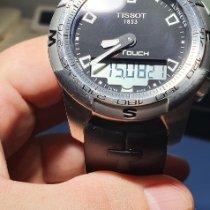 Tissot T-Touch II Сталь 43mm Черный Без цифр