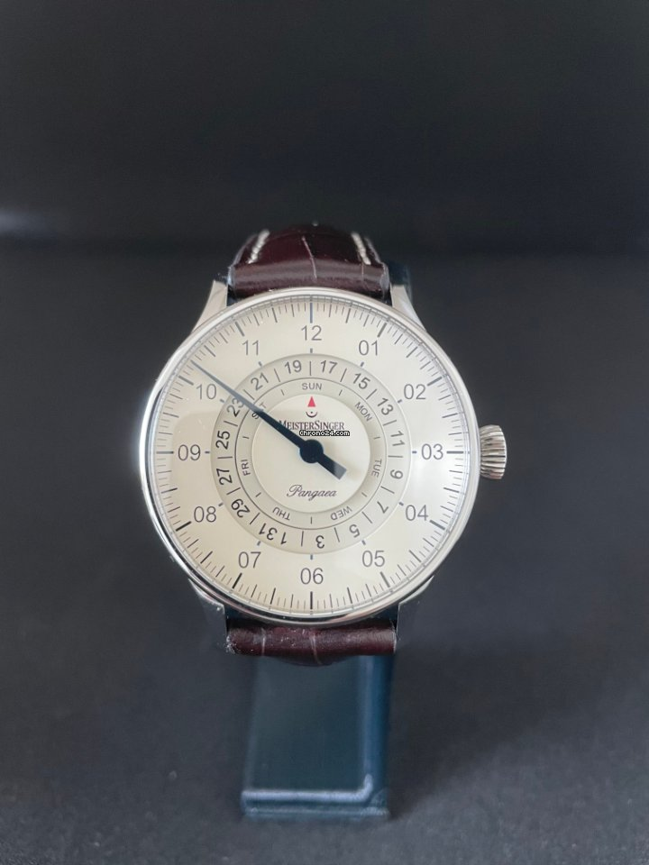 Meistersinger Pangaea Day Date PDD903 2017 pre-owned