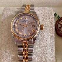 Rolex pre-owned Manual winding 26mm Mother of pearl Sapphire crystal 10 ATM