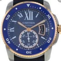 Cartier Calibre de Cartier Diver Steel 42mm Blue Roman numerals United States of America, New Jersey, Upper Saddle River