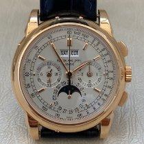Patek Philippe Perpetual Calendar Chronograph new 2005 Manual winding Watch with original box and original papers 5970R