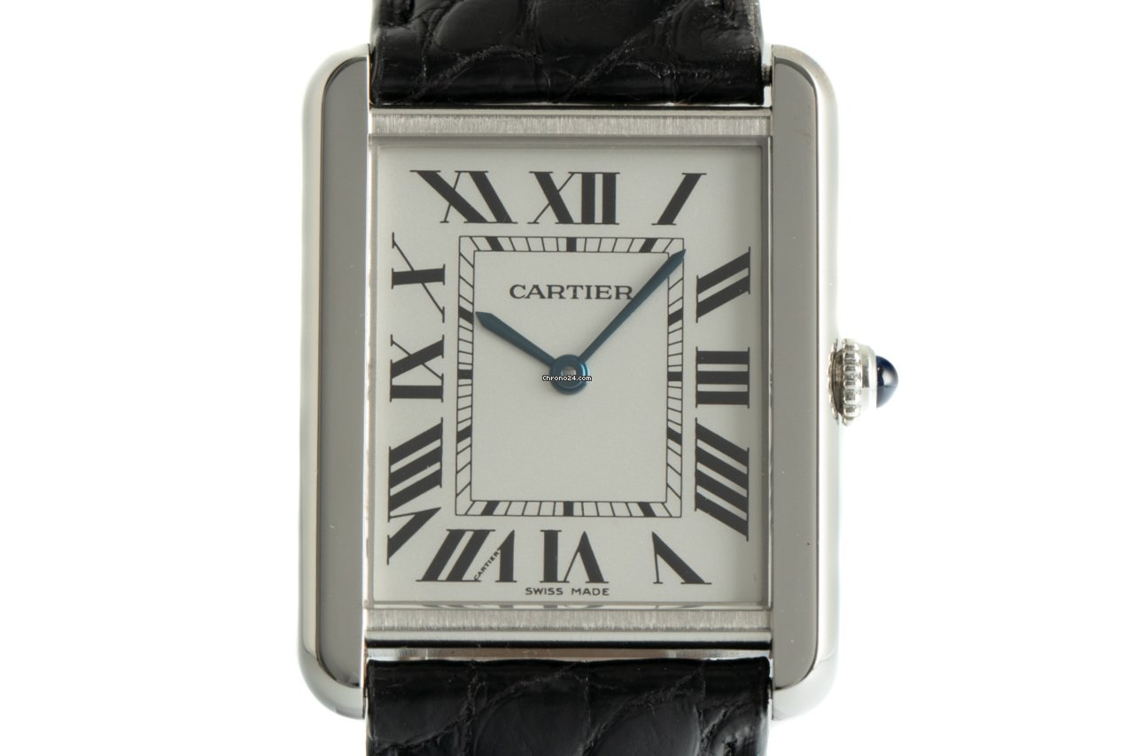 Cartier Tank Solo W1018355 2008 pre-owned