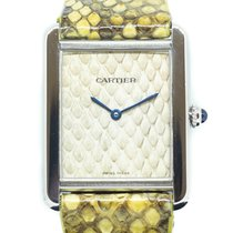 Cartier Tank Solo Steel Champagne Singapore