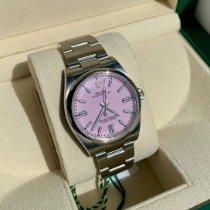 Rolex Oyster Perpetual 36 Steel 36mm Pink No numerals United Kingdom, NE20 9PR