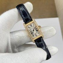 Cartier Tank Américaine Yellow gold 19mm White Roman numerals
