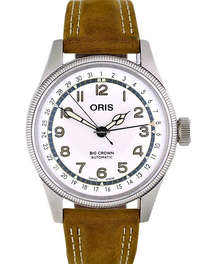 Oris Big Crown Pointer Date 01 754 7741 4081-Set 2021 new