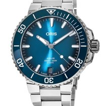 Oris Aquis Date new 2021 Automatic Watch with original box and original papers 01 400 7769 4135-07 8 22 09PEB