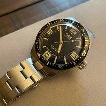 Oris Divers Sixty Five pre-owned 40mm Blue Date Steel