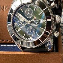 Breitling Superocean Heritage II Chronographe Steel 46mm Green United States of America, Texas, Farmers Branch