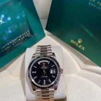 Rolex Day-Date 40 Rose gold 40mm Black Roman numerals United States of America, California, Los Angeles