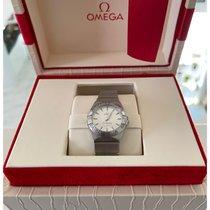 Omega Constellation Quartz new 2019 Quartz Watch with original box and original papers 123.10.24.60.02.001