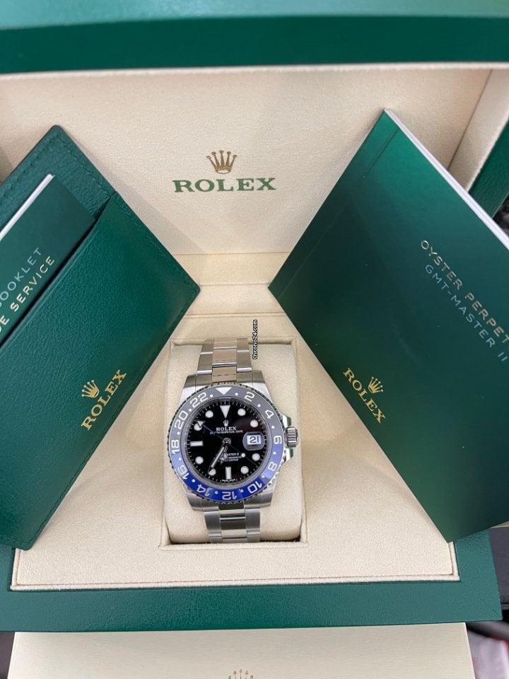 Rolex GMT-Master II 116710BLNR 2017 nou