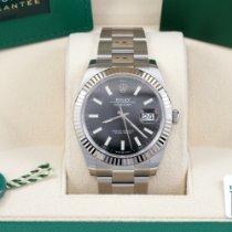 Rolex Datejust White gold 41mm Black No numerals United States of America, California, Los Angeles
