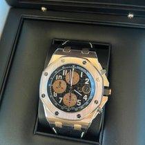 Audemars Piguet Rose gold Automatic Black Arabic numerals 42mm new Royal Oak Offshore Chronograph